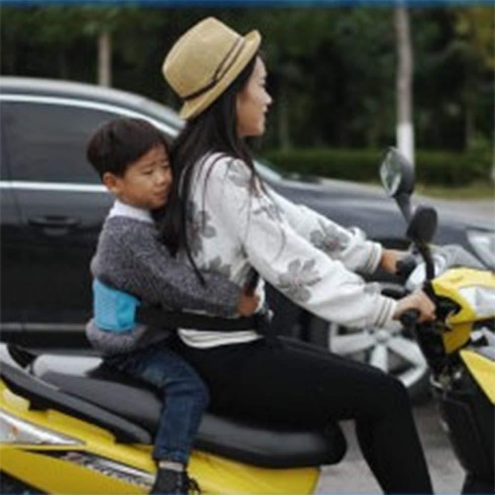 Ni/ño Arneses De Seguridad Reflectante Y Plegable C/ómoda Tela Oxford Transpirable Correas De Asiento(Rojo)Para Moto Nieve Scooter El/éctrico Cintur/ón De Seguridad Para Motocicleta Ni/ños