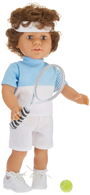 My Pal テニス用18インチ人形 中型スキンカラー   B07BJD8R8Z