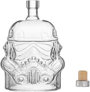 Star Wars - Jarra de whisky Stormtrooper de cristal para Whisky y Whisky (750 ml)