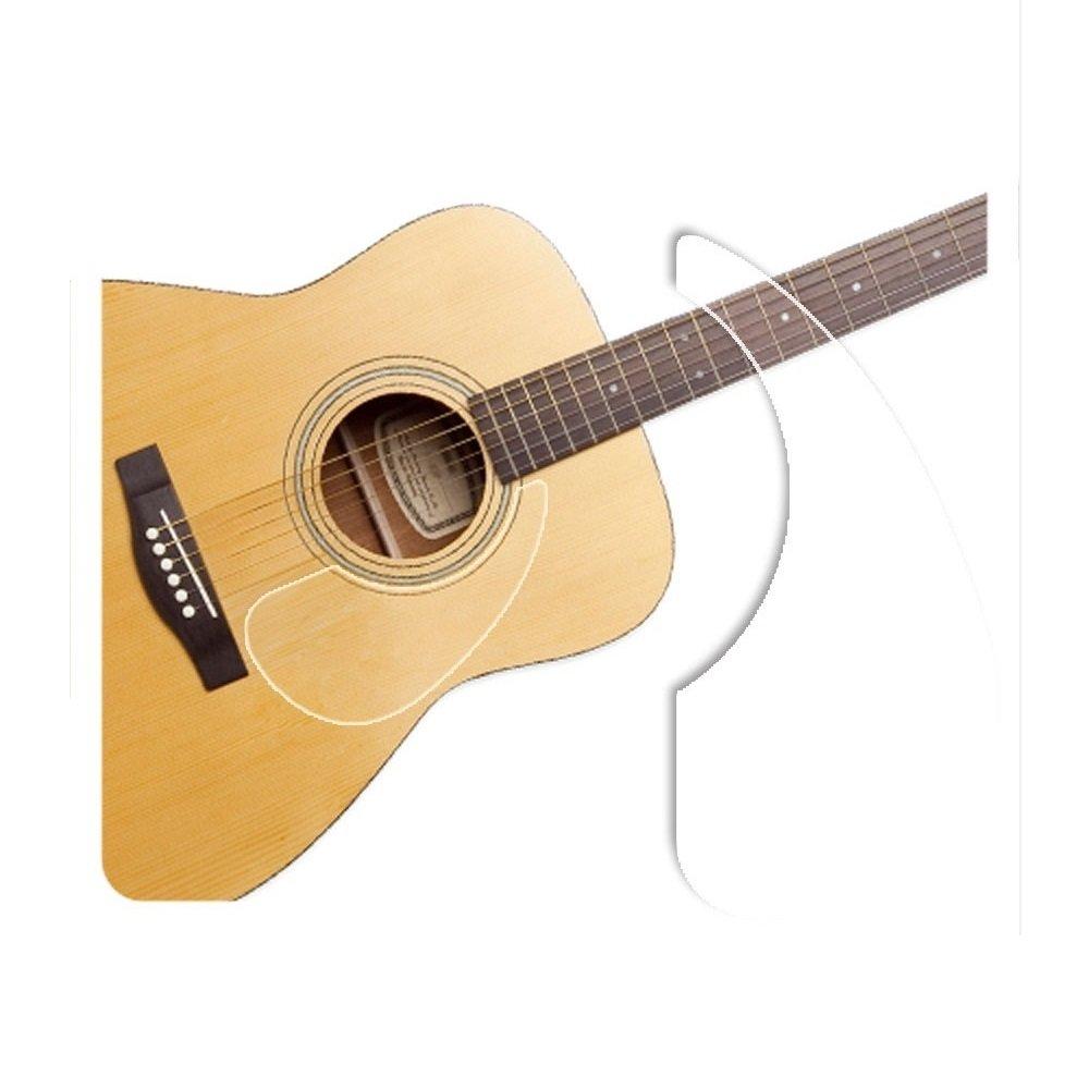 Healingshield Premium Acoustic Guitar Pickguard Basic Type Clear matt
