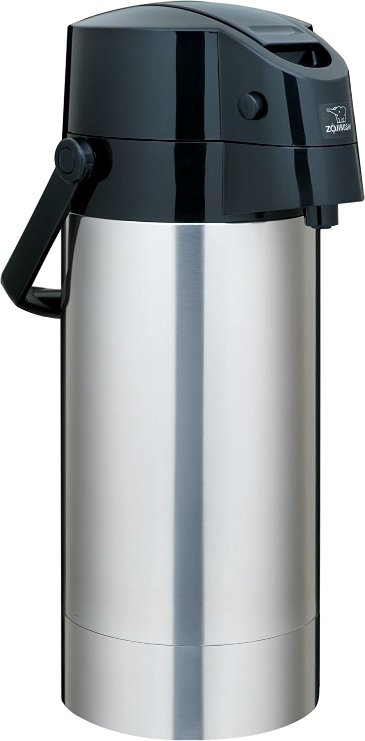Zojirushi SR-AG38XA Stainless Steel Vacuum Air Pot Beverage Dispenser, 1-Gallon / 3.8-Liter