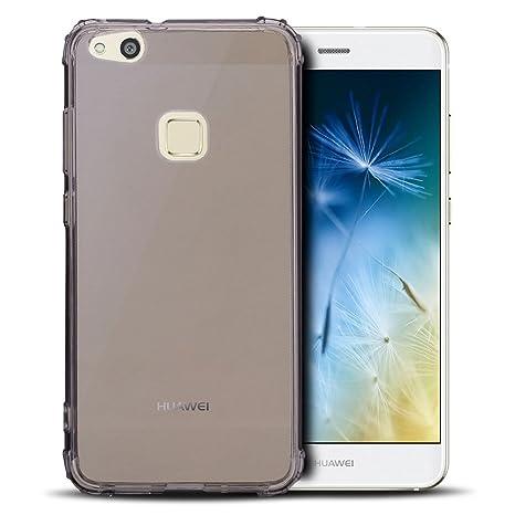 Anfire Carcasa Huawei P10 Lite, Funda de Transparente y ...