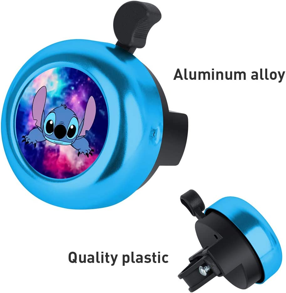 DISNEY COLLECTION Bicycle Bell Cute Fashion Aluminum Bike Bell Ring Loud Clear Sound Bike Accessories for Adults Kids Girls Boys Women