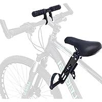 LOPADE Assento infantil de bicicleta com acessório para guidão, assento infantil de bicicleta e guidão dianteiro…