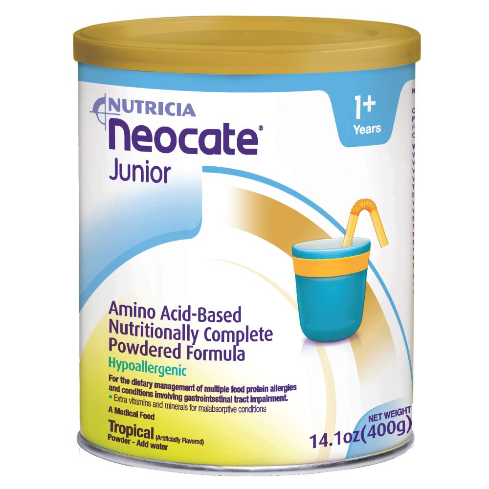 Neocate Junior, Tropical, 14.1 oz / 400 g (1 can) by Neocate