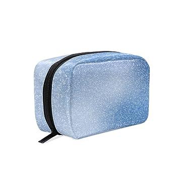 e3ecd584c292 Amazon.com : Portable cosmetic bag square cosmetic storage bag ...