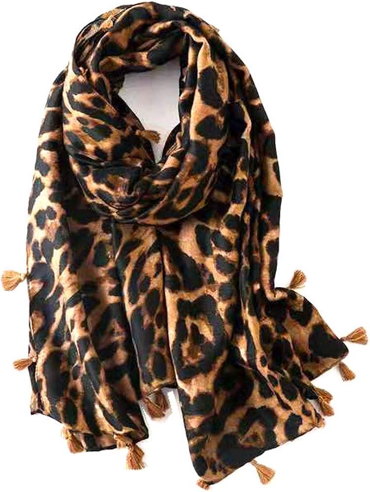 Micoop Women's Chic Leopard...