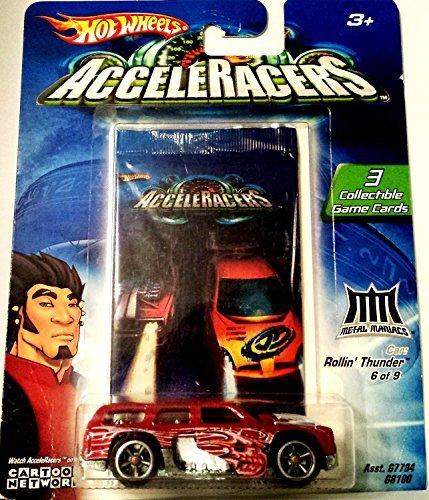 Hot Wheels AcceleRacers Rollin' Thunder (Teku Acceleracers Cars Hot Wheels)