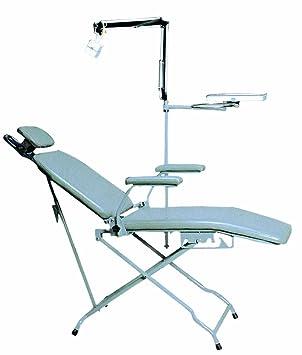 bestdent portátil plegable Sillón reclinable silla de metal ...