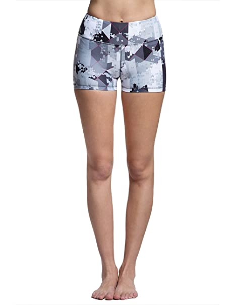 Amazon.com: TITIKA Womens Yoga Mono Pixie Graphic Shorty ...
