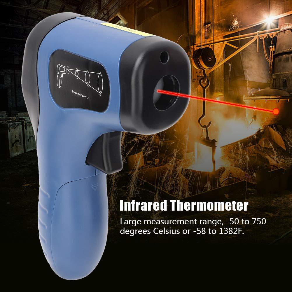 Term/ómetro de pistola de temperatura digital term/ómetro infrarrojo digital TL-IR750 term/ómetro de mano de precisi/ón infrarrojo term/ómetro industrial
