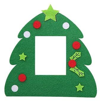 Weihnachten Fotorahmen.Amazon De Caolator Weihnachtsbaum Form Bilderrahmen Weihnachten