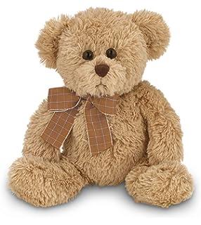 98b3ad347b7 Bearington Baby Benson Brown Plush Stuffed Animal Teddy Bear