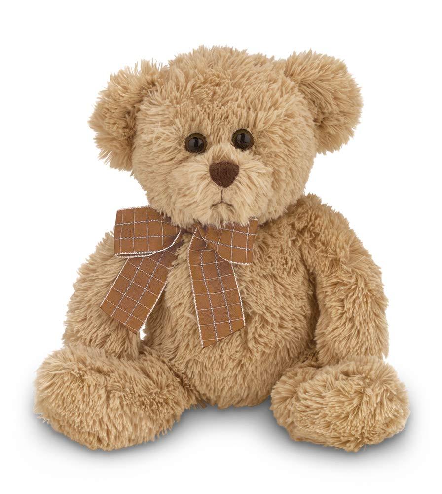 Bearington Baby Bensen Brown Plush Stuffed Animal Teddy Bear