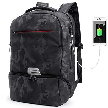 75a67a4688 Sac pour Ordinateur Portable 15.6 Pouces Sac à Dos PC Portable Cartable Sac  à Dos collège