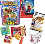 power pack pudding - Asian Street Fighter Blast Ryu Mini Figure - Dino Island Pudding / Power Rangers Pops / Top Ramen Beef Noodles / Fun Magic Dip Candy / Fortune Cookie / Chop Sticks & Snack Container