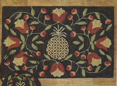 Park Designs 385-35 Pineapple Hooked Rug