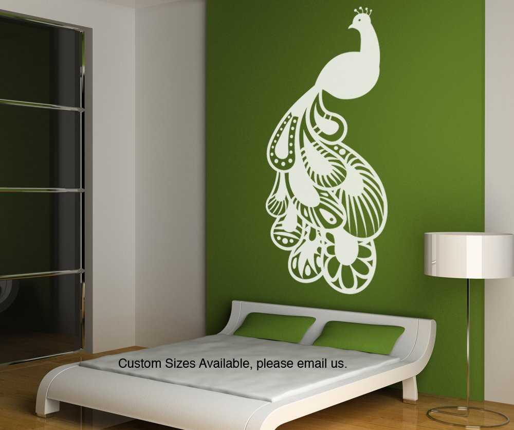 Amazon.com: Vinyl Wall Decal Sticker Oriental Peacock Item OS_MB124s: Home  U0026 Kitchen Part 56