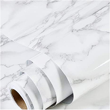 Contact Paper Self Adhesive Worktop Peel Stick Wallpaper Room Kitchen Wall Decal