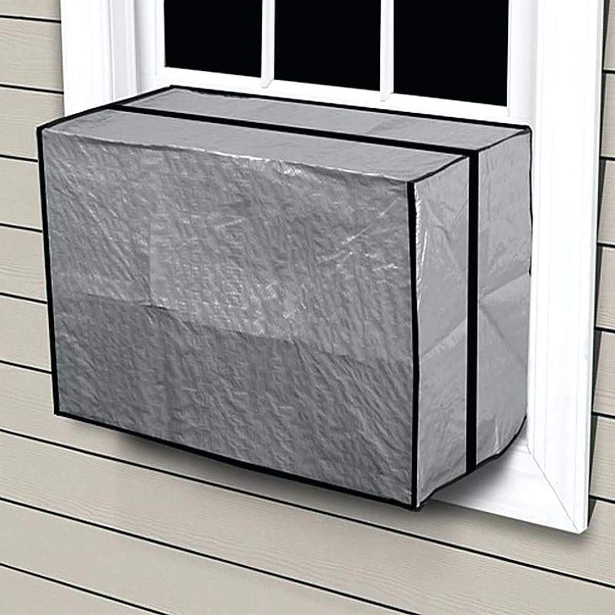 Amazon.com: Air Conditioner Heavy Duty AC Outdoor Window Unit Cover Medium 10,000-15,000 BTU: Home \u0026 Kitchen