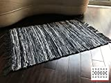 LOOMAGE INDIA Denim rug【Japan Produce】24.7×36.7inch