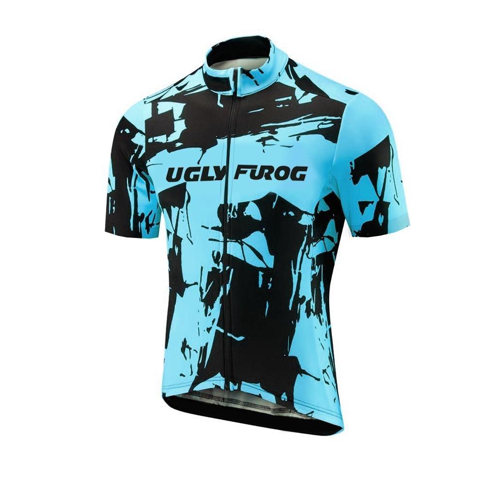 Uglyfrog Sporternメンズアウトドアスポーツサイクリング半袖サイクルジャージバイクウェア自転車シャツ B07BZNTBK3 Size X-Large(7-10 Days Production)|Colour 04 Colour 04 Size X-Large(7-10 Days Production)