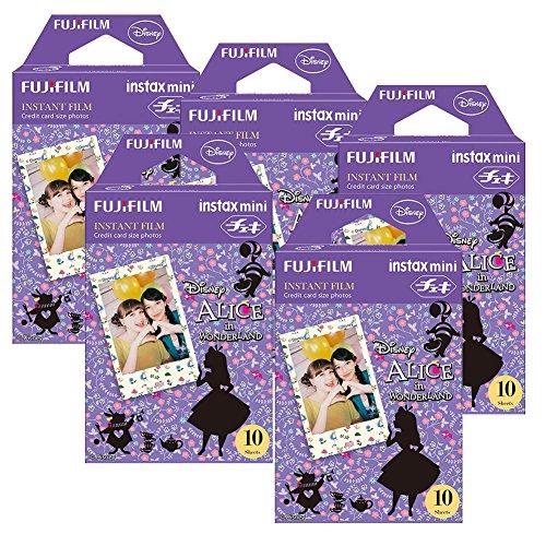 (Fujifilm Instax Alice in Wonderland Instant Film 5pk For Mini 8 Cameras 50Sheets)