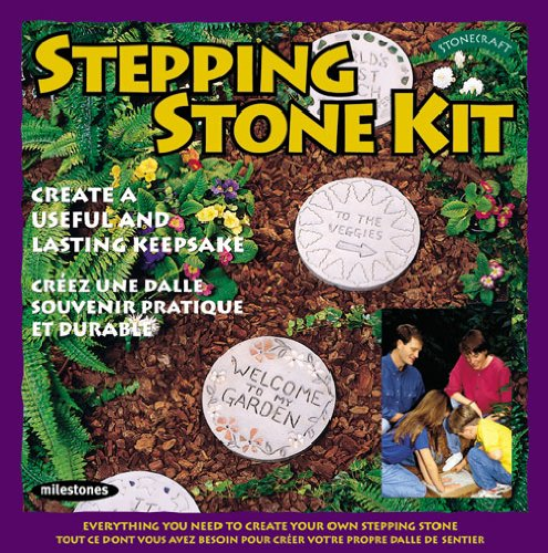 (Midwest Products Milestones Stepping, Round Stone Kit)
