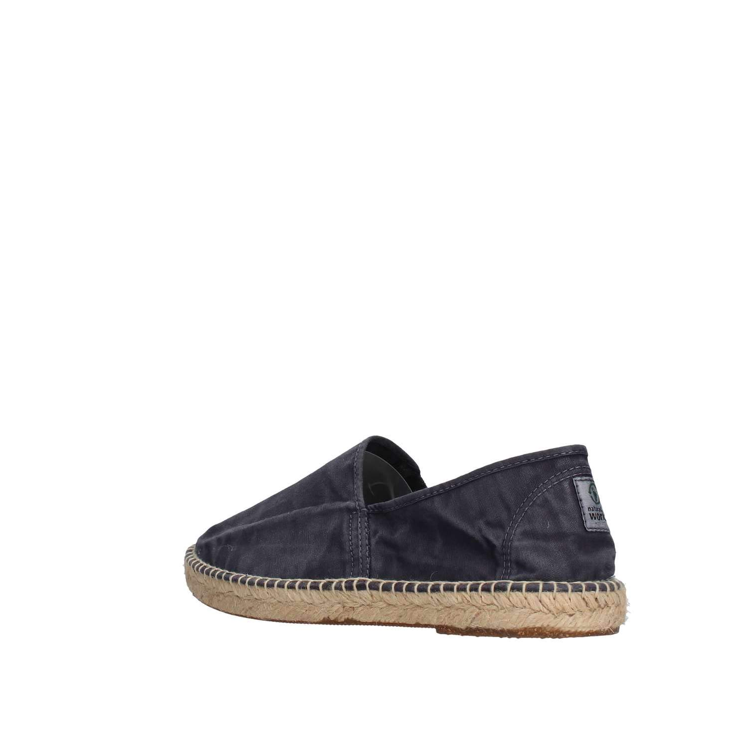Natural World Scarpe Uomo Espadrlles Slip on Cotone Bio
