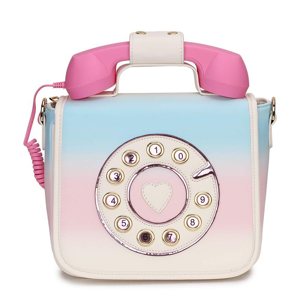 ویکالا · خرید  اصل اورجینال · خرید از آمازون · Fashion Telephone Shaped Handbag Shoulder Bag Women Crossbody Bag Girls Purse Women Handbag Daily Totes Bag Messenger Bag wekala · ویکالا