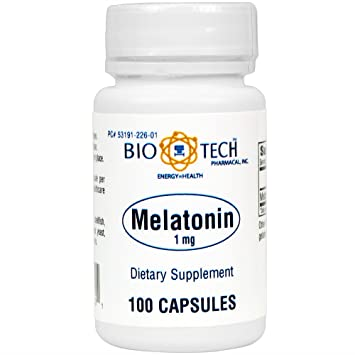 BioTech Pharmacal - Melatonin 1mg - 100 Count