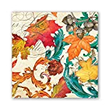 Michel Design Works 20-Count 3-Ply Paper Luncheon Napkins, Fall Symphony