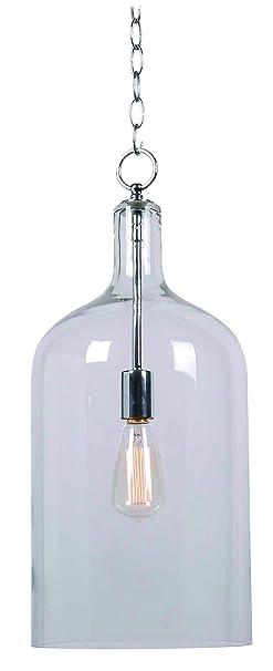 Amazon.com: kenroy Home 91830 Capri 1 luz colgante con ...