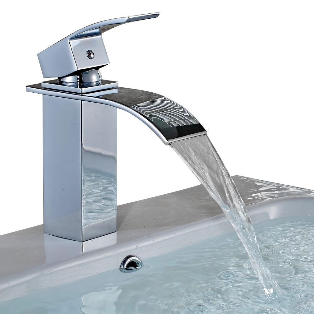 Waschbecken armatur wasserfall oa09 hitoiro for Design armaturen bad