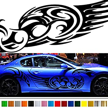 Tribal car sticker car vinyl side graphics wa04 car vinylgraphic car custom stickers decals 【8