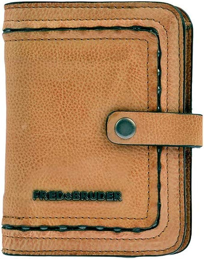 FREDsBRUDER Scale Tiny Wallet Geldbörse Cognac Braun Neu
