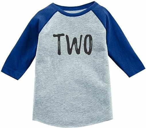 Tstars Birthday Gift for 4 Year Old Boy Truck 3//4 Sleeve Baseball Jersey Toddler Shirt