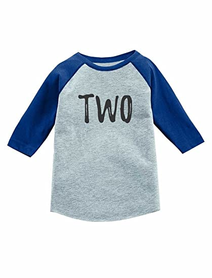 Amazon Tstars 2nd Birthday Gift For 2 Year Old Child 3 4 Sleeve Baseball Jersey Toddler Shirt Clothing