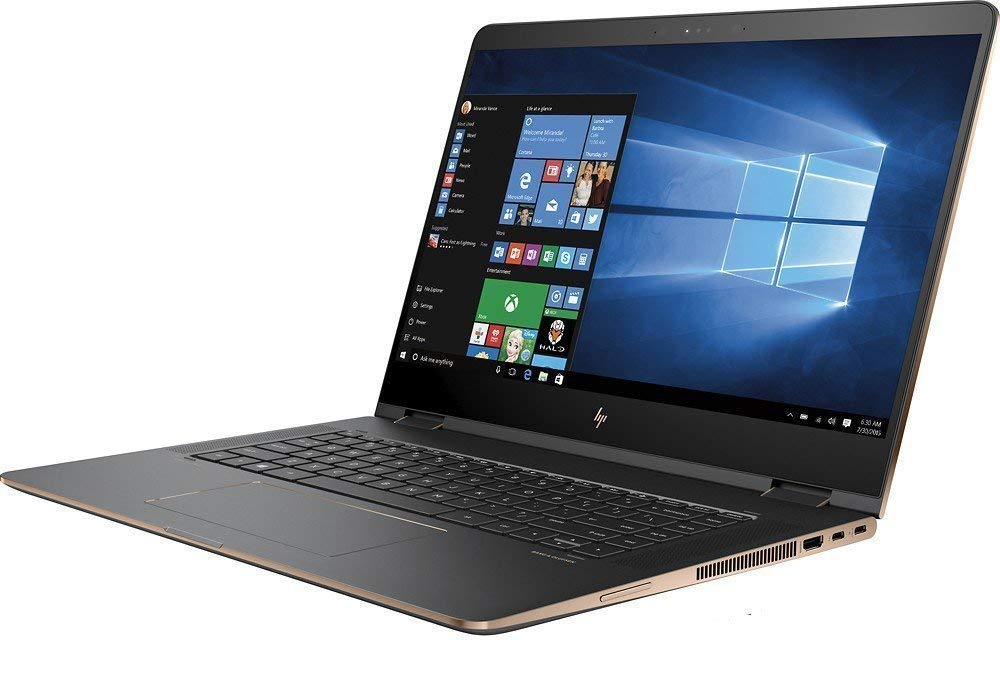 HP 2018 Spectre Touch 15t x360 Gaming Convertible Ultrabook 8th Gen Intel i7 Quad Core up to 4GHz 16GB 512GB SSD 15.6
