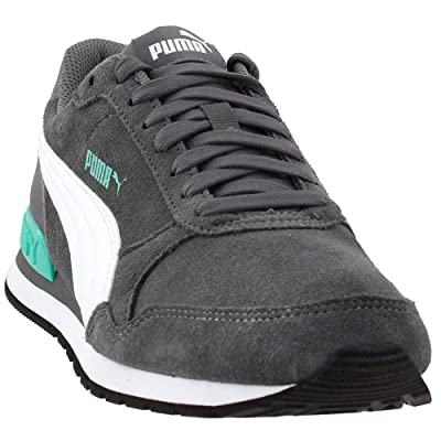 Puma Mens ST Runner V2 Casual Sneakers, Grey, 12 | Fashion Sneakers
