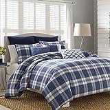 Nautica 220516 Cunningham Comforter Set, Navy, Twin