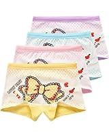 USex Sense 12er Pack sportliche Mädchen Pantys Hipster Shorts Süß Unterwäsche Größe 2 - 12 Jahre