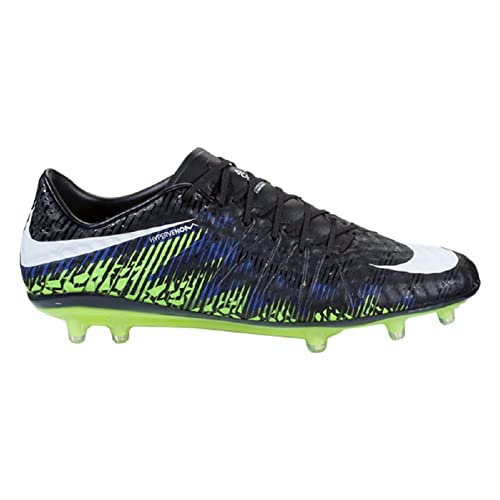 low priced 14726 1e23e Nike Hypervenom Phinish FG (Black/White/Volt/Paramount Blue) (6.5): Buy  Online at Low Prices in India - Amazon.in