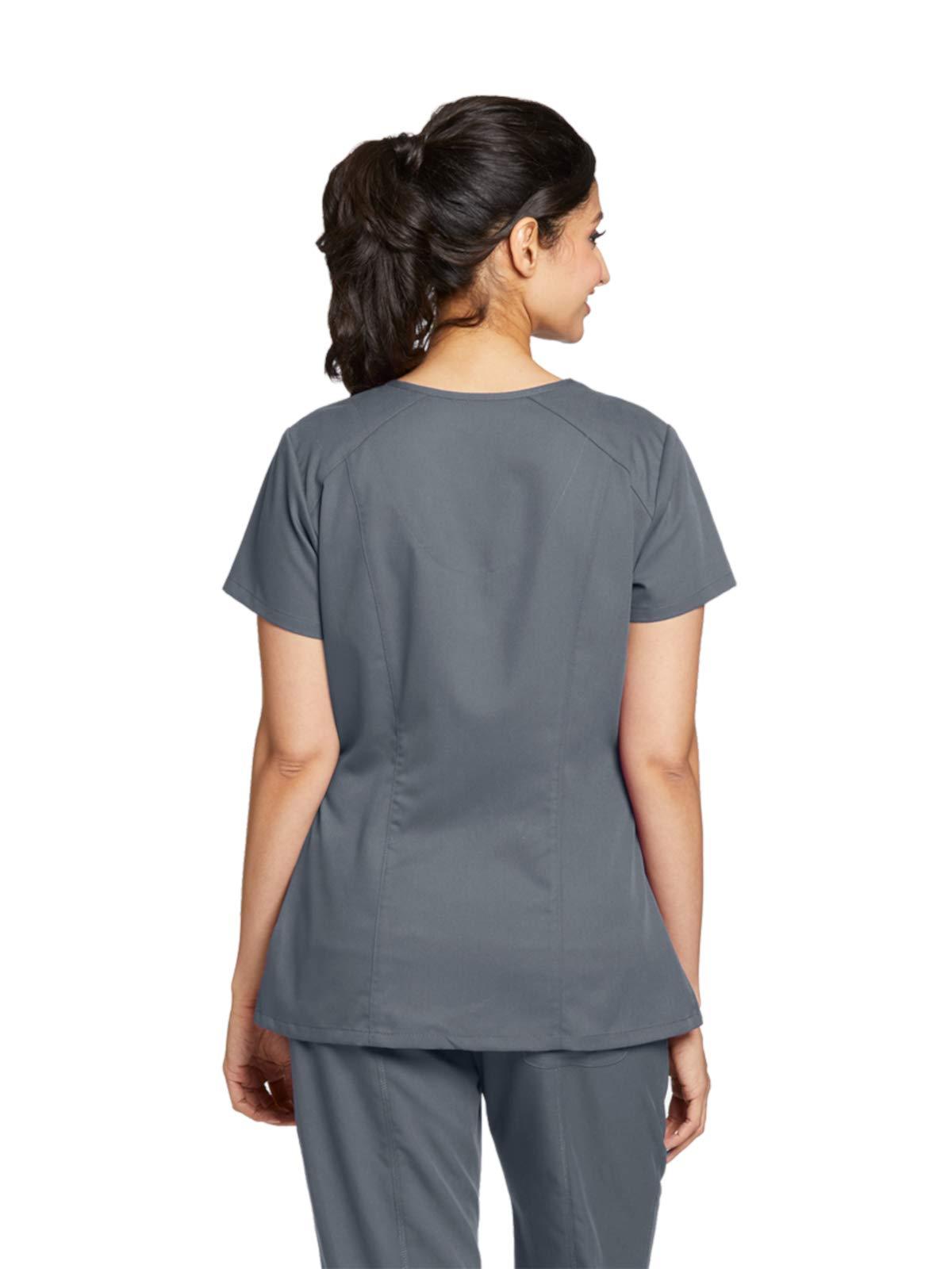 1d92d996c91 Grey's Anatomy 41452 V-Neck Top Granite 2XL - 41452X-GRANITE-2XL <  Plus-Size < Clothing, Shoes & Jewelry - tibs