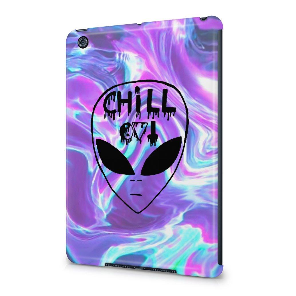 Chill Alien espacio Tye Dye colorido película de jabón ...