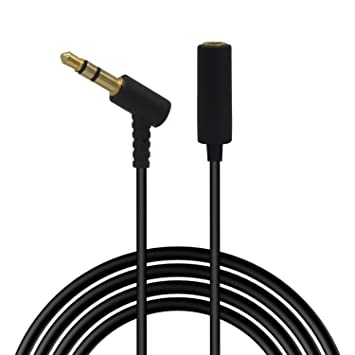 Repuesto Cable de extensión para Bose auriculares, 3,5 mm macho a hembra estéreo Cable Jack de audio compatible con teléfonos celulares/tablet/TV con 3,5 mm ...