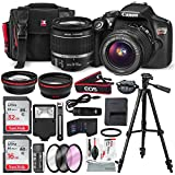 : Canon EOS Rebel T6 DSLR Camera with EF-S 18-55mm f/3.5-5.6 IS II Lens, Along with 32 & 16GB SDHC, and Deluxe Accessory Bundle with Xpix cleaning Accessories