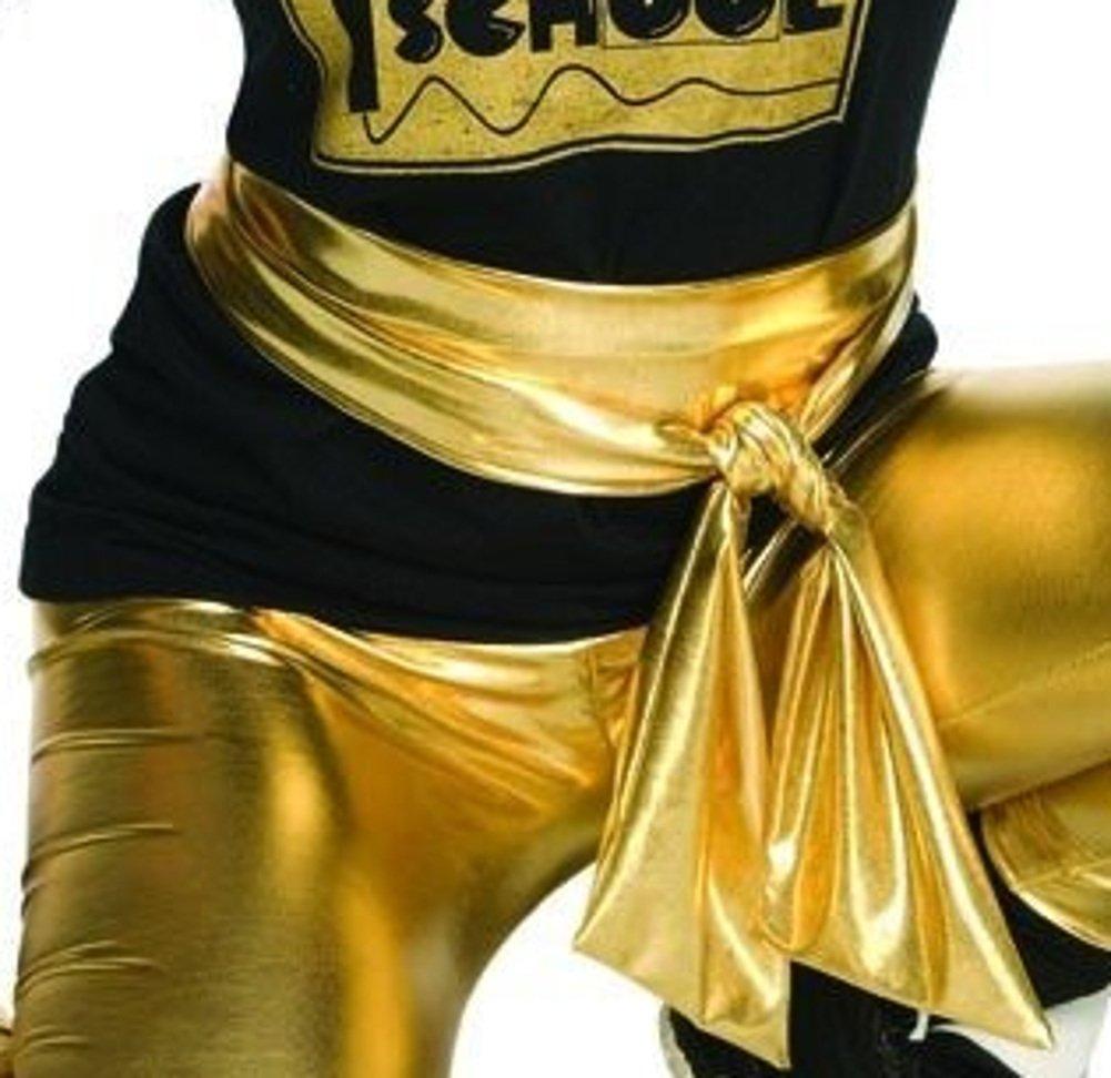 Rubie's Men's Old School Gold Lame Belt, As As Shown One Size