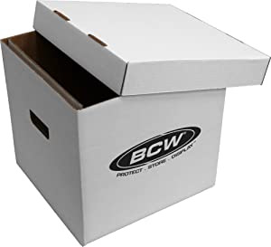 BCW-BX-33RPM-BOX - 12  Record Album Storage Box with Removable  sc 1 st  Amazon.com & Amazon.com : Diskeeper Ultimate LP Record Storage Box by Sleeve City ...
