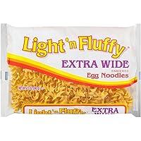 Light 'n Fluffy Extra Wide Egg Noodles, 12 oz Bag